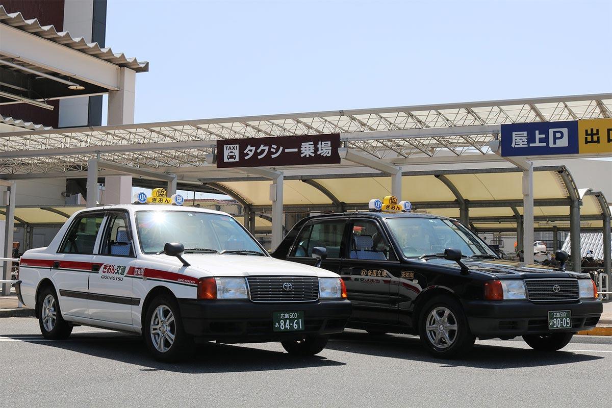 祇園交通の小型タクシー